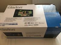 Clarion head unit satnav touchscreen double din