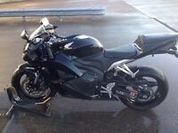 Immaculate cbr600rr a as new mega low miles