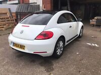 Volkswagon Beetle 1.2 tsi White & Gloss Black