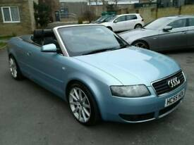 2005/55 Audi A4 S Line convertible 1.8T With full service history and low Miles