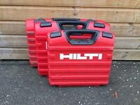 HILTI POWER TOOL BOXES