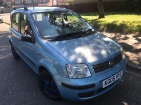 Fiat panda 1.2 dynamic 2005, blue, Manual, city mode, 5 door hatch, 94k s/h, motd,