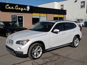 2014 BMW X1 xDrive28i - Heated Seats & Wheel, Pano, Navi, BU C