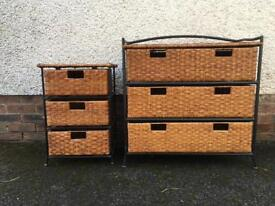 2 piece storage set