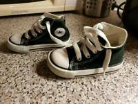 Boys converse trainers