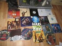 records joblot, vinyl, some rock music, dance, LTD EDITIONS, picture discs