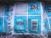 3mm tile spacers long leg 5 packets