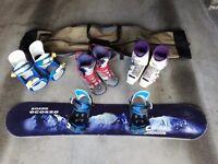 Ski and snowboard stuff