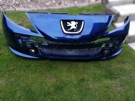 Peugeot 207 front bumper