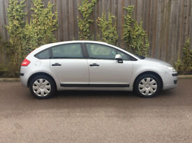 LEFT HAND DRIVE + CITROEN C4 + 1.6 HDI + 1 OWNER FROM NEW + 2008 + ON U.K PLATES