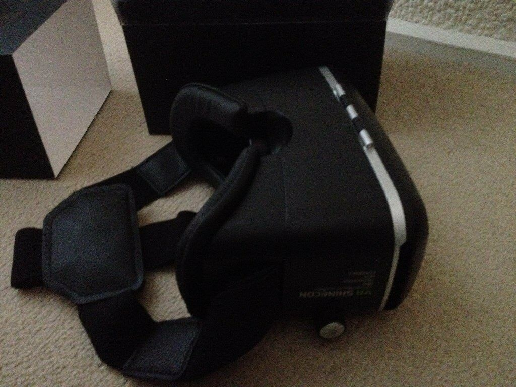 VR GOGGLESBRAND NEW IN BOXKEEP THE KIDS QUIET THIS HOLIDAYin East Kilbride, GlasgowGumtree - VR goggles only used once. Come complete in box with instructions. Collection St Leonards East Kilbride