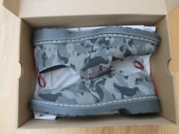 Mens Dr Martens Air Wair 1461 Staple Pigeon camo lace up suede shoes 11 New in Box Sample Ex sample