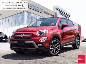 2017 Fiat 500X Trekking, Panoramic Sunroof, Backup Camera