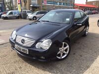 2006 Mercedes C160 Kompressor coupe. 60k miles. Immaculate condition