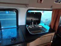 Open to offers Campervan 42000mil FSH long mot Electric hookup cooker fridge sink 6 speed turbo 2key