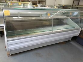 2.5M COMMERCIAL DISPLAY SERVE OVER COUNTER FRIDGE (ZOIN) AST170