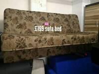 Sofa bed brown
