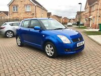2008 SUZUKI SWIFT 1.5 GLX, FULL SERVICE HISTORY, FULL 12 MONTH MOT, 1 KEEPER, HPI CLEAR
