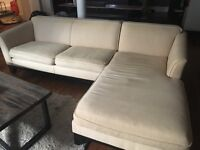 Pottery Barn Sectional Sofa - 2 Pieces £300