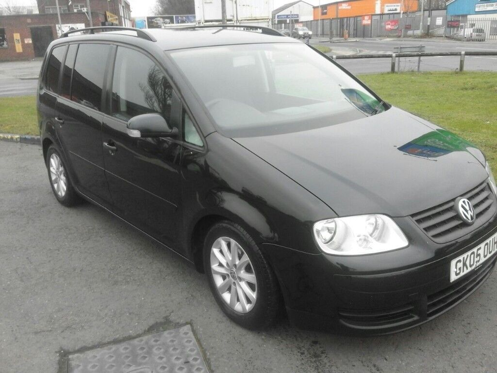 VW TOURAN 1.9 TDI LOW MILEAGE 7 SEATERS