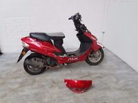 2013 pulse scout 49 cc scooter moped spares or repairs project boation lexmoto cheap scooter