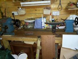 AXMINSTER WOODTURNING LATHE
