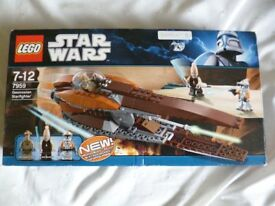 Lego Star Wars Geonosian Starfighter set 7959