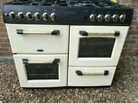 Cooker Belling sandringham 100DF cream gold