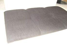 King sized headboard black upholstery