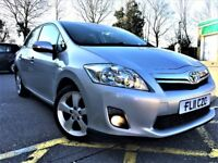 2011 TOYOTA AURIS 1.8 HYBRID ELECTRIC T4 CVT, EXCELLENT CONDITION, PART EXCHANGE WELCOME