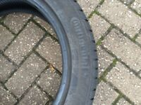 4 x Continental 205/50 R17 Winter Tyres (originally from Volvo V50)