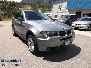 2006 BMW X3 3.0i 6 Cyl-AWD-REDUCED!