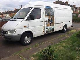 2005 Mercedes sprinter LOW MILEAGE lwb 145000
