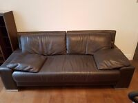 3 Leather Sofas for Sale Buyer Collects
