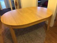 Bjursta extendable Ikea table