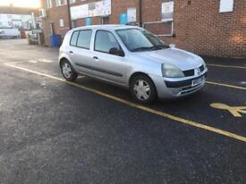 Low mileage automatic Renault Clio.