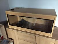 3ft Vivarium for snakes and other reptilian creatures