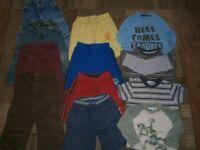 Large Bundle of Boys Clothes Aged 18-24 months