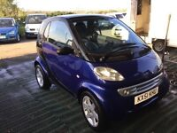 SMART CAR PULSE LOW MILEAGE 6speed semi Auto very economical lovely driver sporty hatch