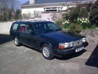 Volvo Estate SE Petrol 2.3 Turbo Auto 1995, 135K miles, VG condition, price 1350 an investment