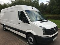 VW CRAFTER LWB CR 109PS 2.0 TDI HIGH ROOF VAN no vat 2013 EXCELLECNT CONDITION