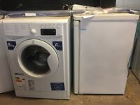 Washing machine and small fridge
