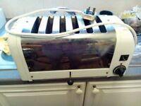 Dualite toaster 6 slices useful for spares