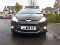 2010 '10' Ford Fiesta 1.4 Titanium 5dr Black Genuine 65k Ffsh 1 P/Owner astra c4 golf size
