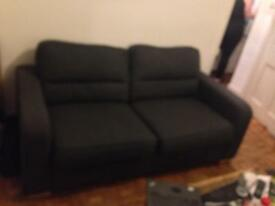 IKEA two seater grey couch