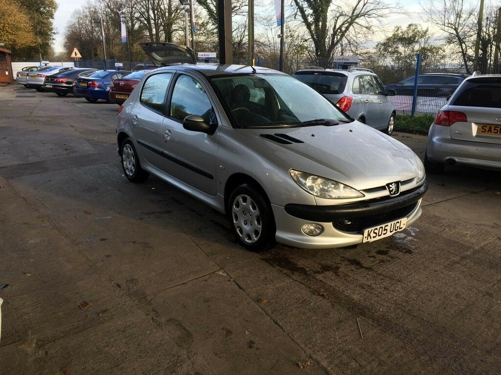 Peugeot 206 Hatchback 1.4 8v S 5dr (a/c) (3 Owners)Long MOT CHEAP ...