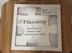 Friendship jigsaw pieces