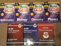 GCSE Revision Books - CGP & Letts - in good used condition