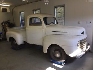 1949 FORD F-47 HALF TON PROJECT TRUCK