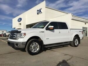 2013 Ford F-150 Lariat 4X4 Max Trailer Tow, Skid Plates, Nav